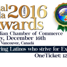 Annual Gala Awards Latino Canadian Chamber of Commerce